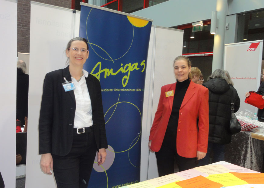 Amigas AKF Stand